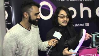 put on your boogie shoes orphe smart led shoes ces 2016 getconnected