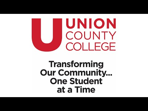 Union County College Scheduled Virtual Classes