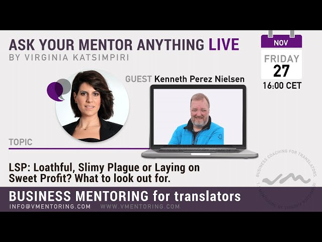 Ask Your Mentor Anything Live with Virginia Katsimpiri FT. Kenneth Perez Nielsen
