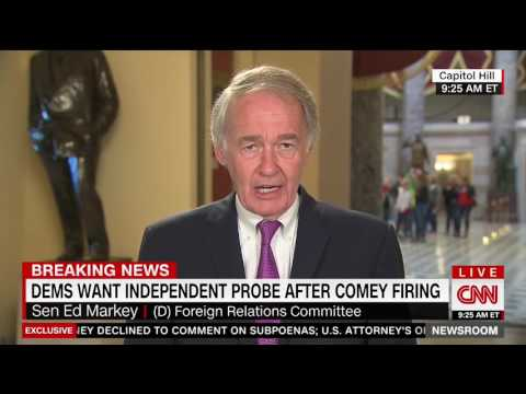 Democratic Senator Ed Markey Spreads False Anti-Trump Story on CNN