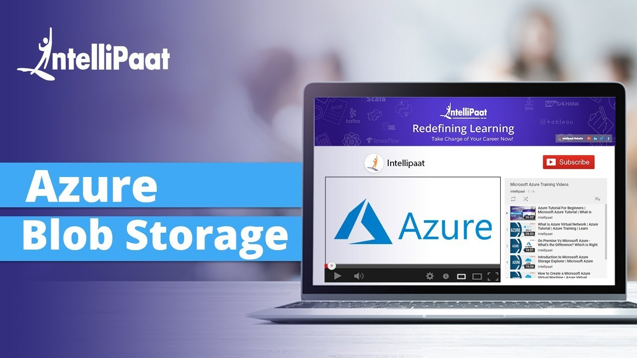 What is Azure Blob Storage | Azure Blob Storage Example | Azure Storage |  Intellipaat