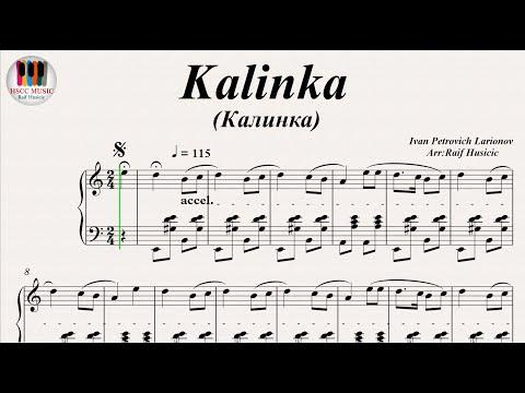 Kalinka (Калинка) - Ivan Petrovich Larionov, Piano - YouTube
