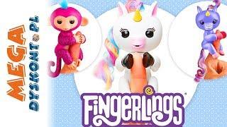 Fingerlings • Małpki i jednorożce • Interaktywne zabawki