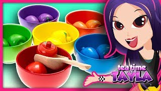 Color Sorting for Children   Learn Colors Video for Kids   Preschool Learning Colors with Tayla