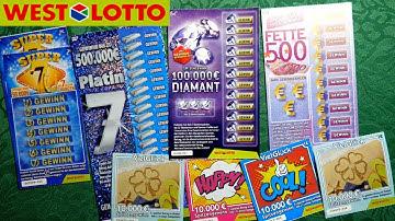 Rubbel Reise : West Lotto 2 der Rubbelspaß mit dem Kaiser ;_)