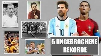 Top 5 Rekorde im Fußball die Cristiano Ronaldo und Lionel Messi nicht brechen konnten