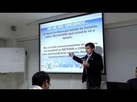 Manejo de objeciones Carlos Quispe (Rango Oro Fuxion) - Parte 02