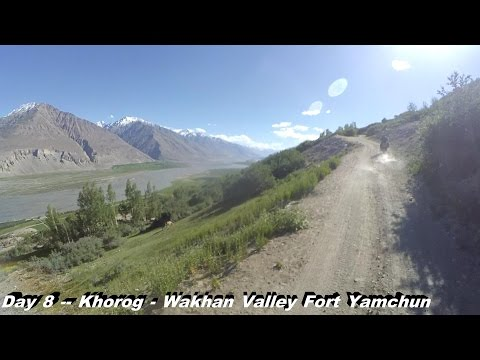 A Pamir Highway Run 2016 - Episode 2: From the Tajik Capital Dushanbe to the Wakhan Valley