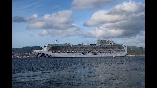 Cruceros  VIKING SKY y SAPPHIRE PRINCESS en Vigo.