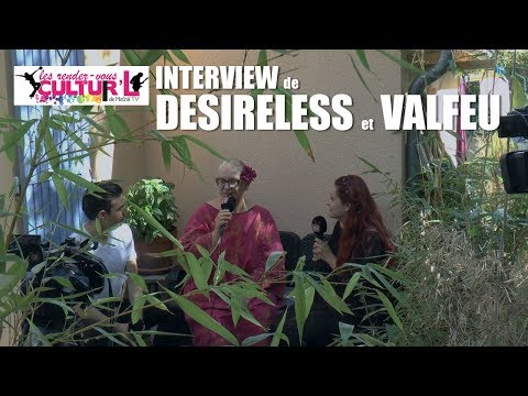 2018 08 14   Interview Desireless + Valfeu à Buis les Baronnies