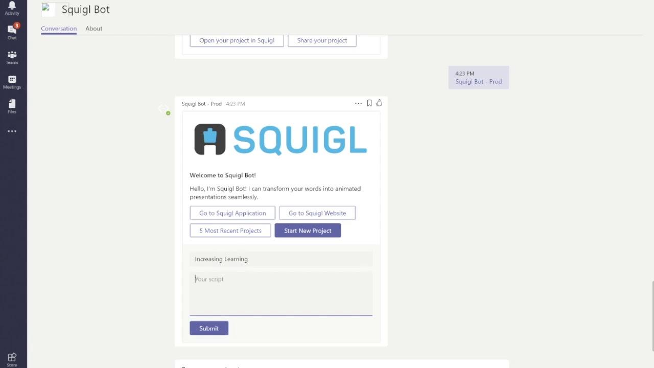 Squigl for Teams