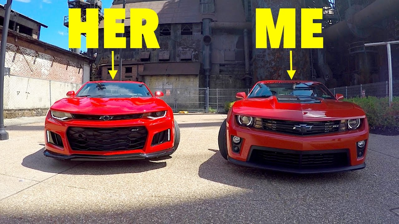 2017 Zl1 Vs 2013 Zl1 My Girlfriend Challenged Me To A Rev