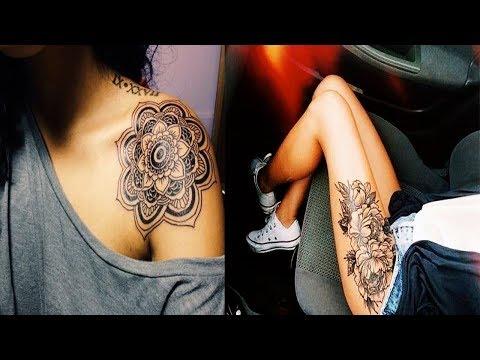 30 Beautiful Tattoos for Girls | Latest Hottest Tattoo Designs 2017