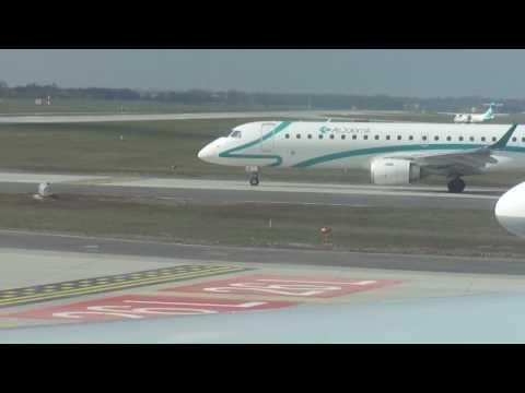 Munich-to-Washington flight: takoff, Atlantic crossing & landing 2011-04-05