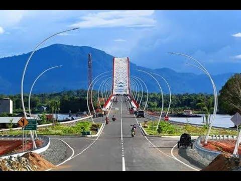 Jembatan terpanjang dan terbesar di kalimantan barat memek 21+
