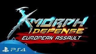 X-Morph: Defense | European Assault DLC Trailer | PS4