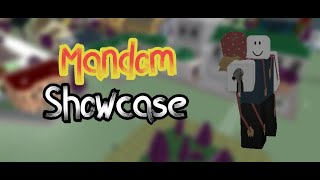 Mandom (REWORK) Showcase | Project jojo | Roblox