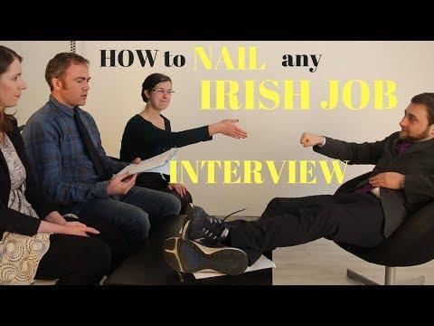 How to Nail that Irish Job interview