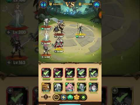 AFK Arena - Peaks of time 3 (Forest) without wilders