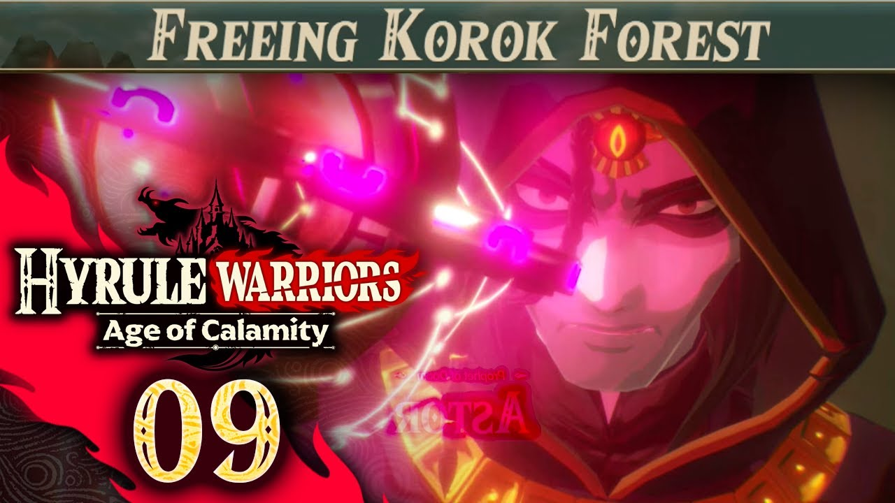 Hyrule Warriors Age Of Calamity Part 9 Freeing Korok Forest Youtube