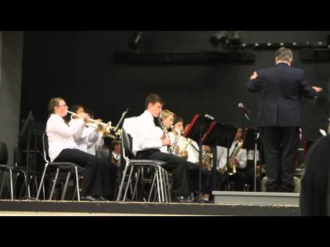 """""""Pyramid Power Polka"""" performed by Diablo View Middle School Concert Band"""