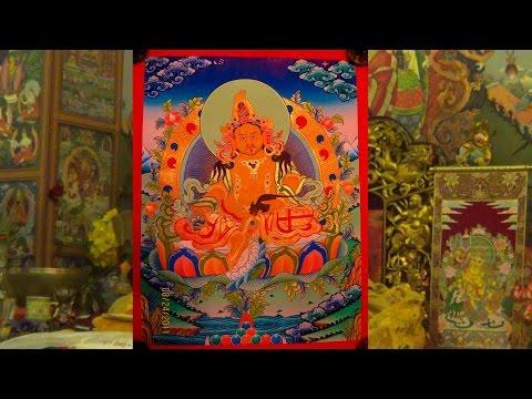 BUDDHISMO TIBETANO Lama Gangchen - Inizziazione di Zambhala Giallo e Rosso II