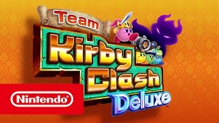 Team Kirby Clash Deluxe - Launch Trailer (Nintendo 3DS)