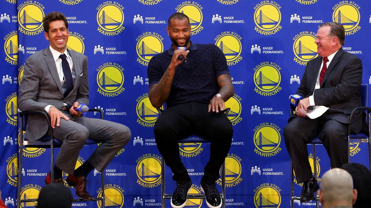 DeMarcus Cousins Press Conference