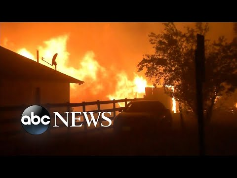 Evacuations ordered as fire burns through Napa Valley