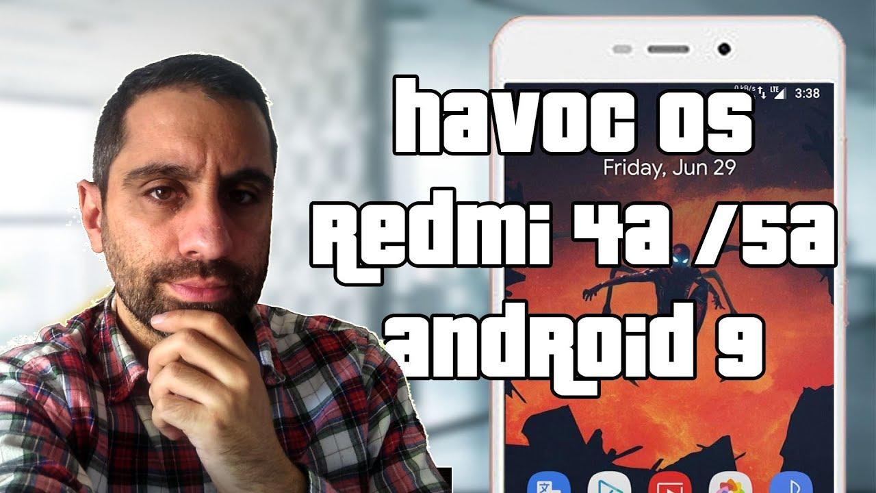 HAVOC OS ROM Android 9 (P) para Redmi 4A / 5A   Instalación, review y Gcam
