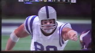 Madden Indianapolis Colts vs Minnesota Vikings