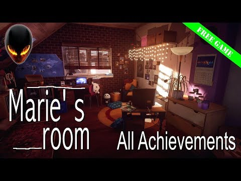 Marie's Room - Full Game / All Achievements (Free Game on Steam)