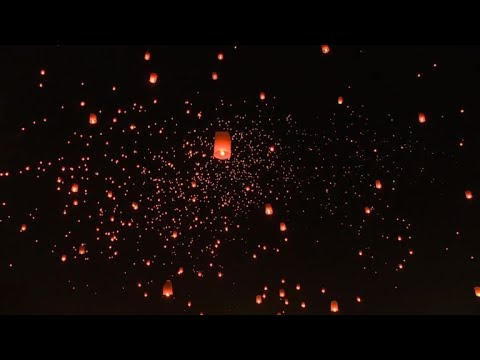 Lantern festival lights up skies over northern Thailand