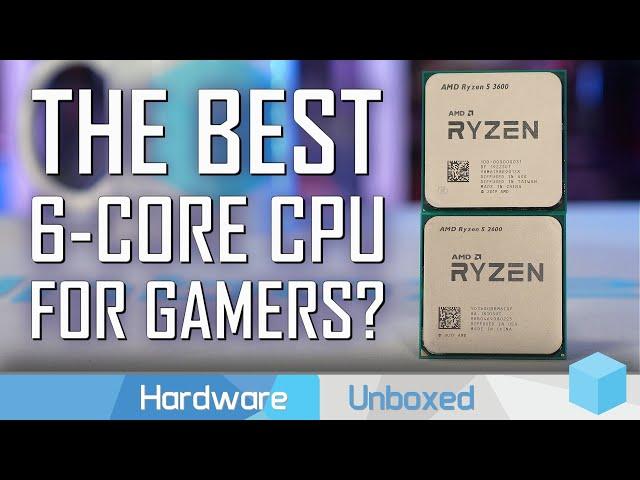 GPU Scaling Benchmark: Ryzen 5 2600 vs. Ryzen 5 3600