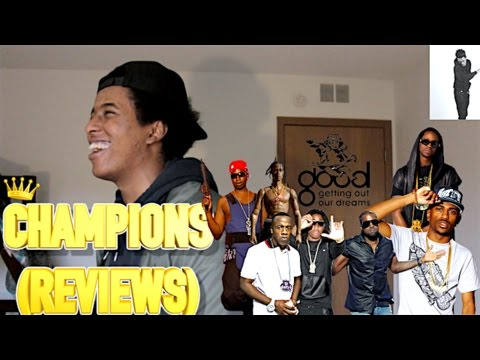 Kanye West - Champions (Round & Round) FIRST REACTION/REVIEW