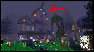 THE SCARIEST HAUNTED HOUSE!! | Harmony Hollow SMP S4 | #8