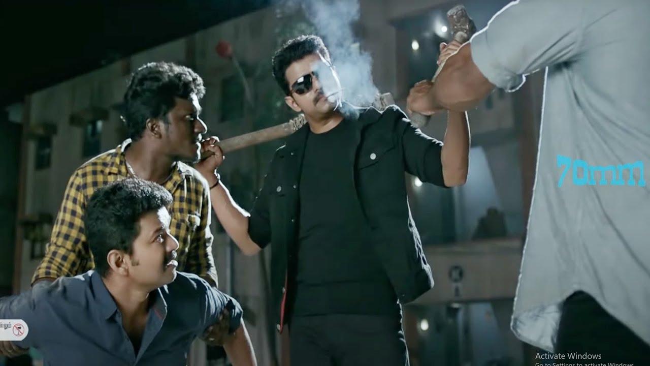 Download Vijay Thalapathy Double Action Scene | Telugu Scenes | 70mm Movies