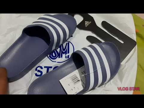 0a757ff0e20e1 Adidas slide on feet