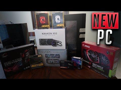 Building My Brand NEW Custom Gaming PC!