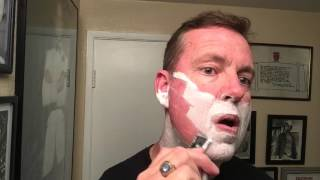 Muhle R41 Safety Razor, First Shave and impression. Will I need a first aid kit?