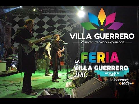"Grupo de Rock ""Stigma"" en la Feria Villa Guerrero"