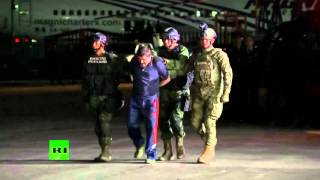RAW: World's most-wanted drug lord 'El Chapo' Guzman captured for the third time