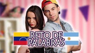 Reto de Palabras: Venezuela vs Argentina | Sweet Patilla ft. Nico