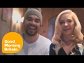 Louis Smith and Josie Gibson on the New Series of The Jump!   Good Morning Britain -  Feb 2017