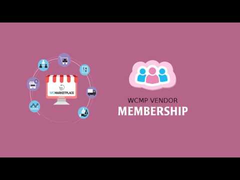 WC Marketplace - WCMp Vendor Membership Addon
