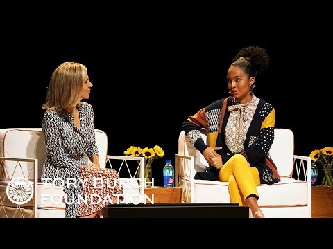 Yara Shahidi & Tory Burch on Activism  The Embrace Ambition Summit