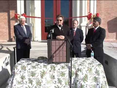 Ribbon Cutting of Renovated 1891 Pinal County Courthouse