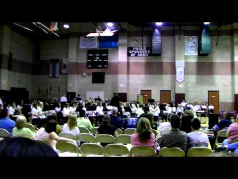 """""""Alligator Alley"""" - Antelope Crossing Middle School 8th Grade Band"""