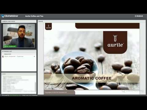 WEBINAR   Aurile Coffe and Tea