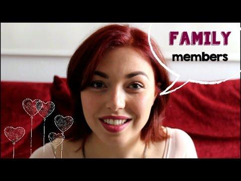 nói về các thành viên gia đình!